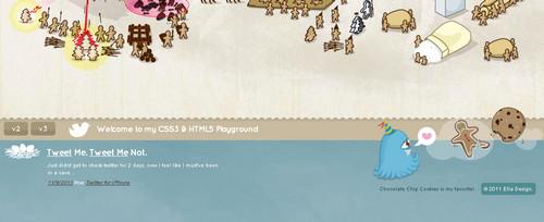 Ella Design - HTML5&CSS3 Playground