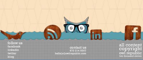 Owl Republic - Graphic, Web and Logo Design