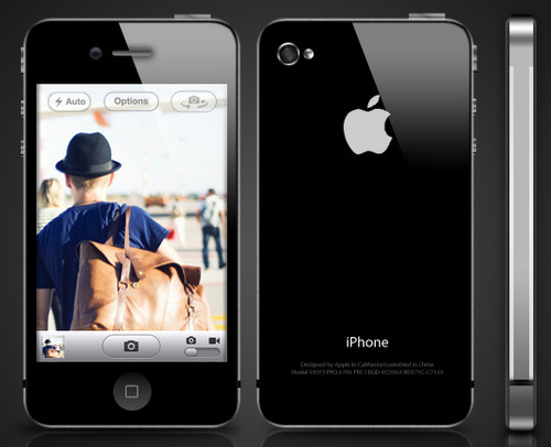 iPhone 4s Template