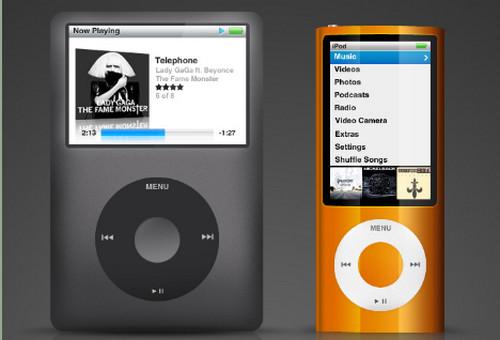 iPod PSD Dual Set