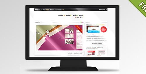 Widescreen LCD TV