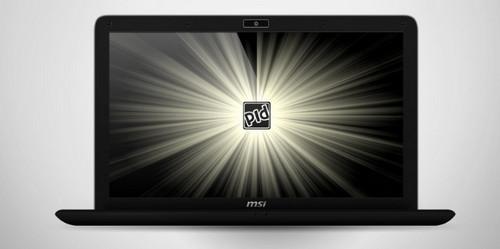 MSI EX400x Laptop .PSD