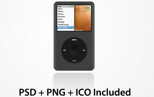 iPod Classic PSD + PNG + ICO
