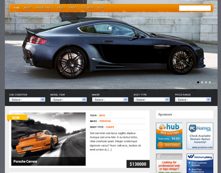 Gears is a high quality auto listing wordpress theme.