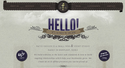 Facio Design - Essex Web Design, iPhone/iPad UI Design