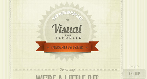Visual Republic - Handcrafted Web Delights