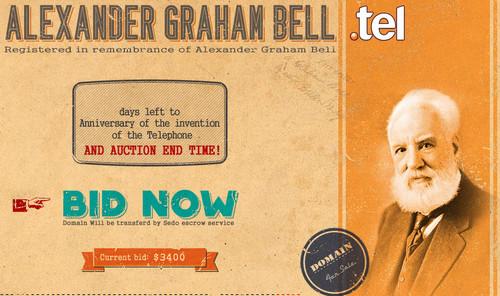 Alexander Graham Bell Auction