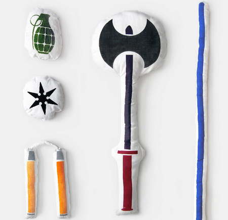 Pillow Weapons: Throw A Real Pillow Fight