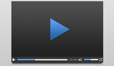 Video Player Mock Up