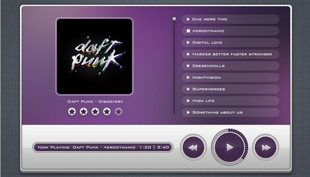 Violet Music Player