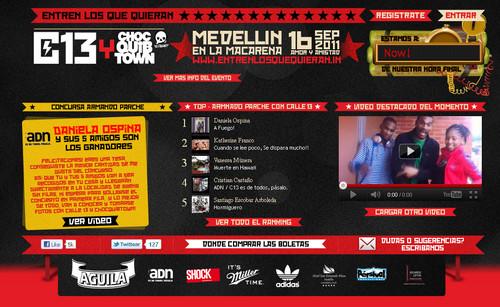Calle 13 y ChocQuibTown en Medellin