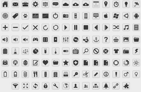110 Mini Web Icons