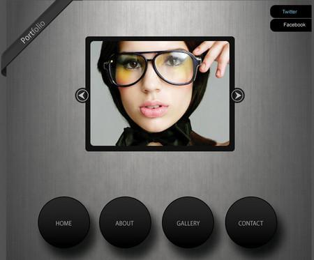 Minimalist Portfolio Web Design
