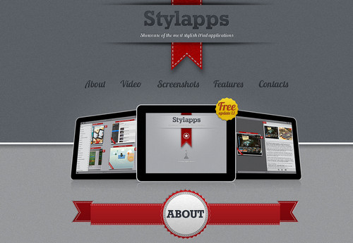 Stylapps - Showcase of most stylish iPad applications