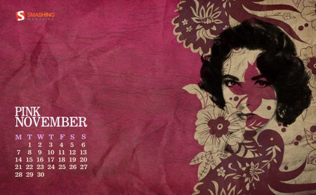 Desktop Wallpaper Calendar: November 2011