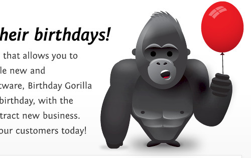 Birthday Gorilla - SMS Marketing for your business