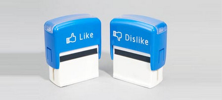 Like or Dislike Stamp