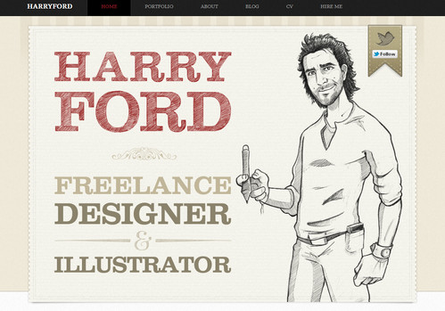 Harry Ford - Freelance Designer and Illustrator