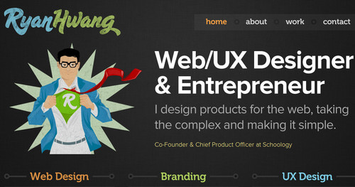 Ryan Hwang - Web Designer and Entrepreneur