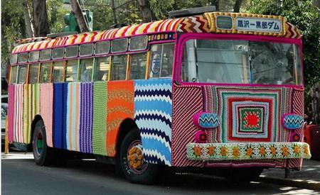 Amazing Street Art: Knitting