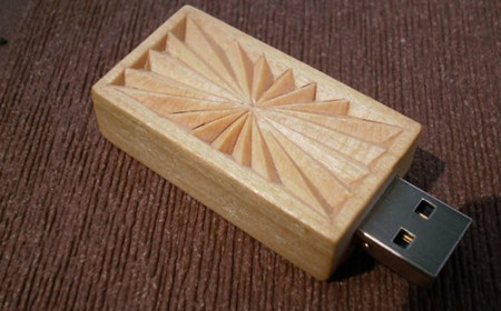 Chip Carved 8gb USB Flash Drive