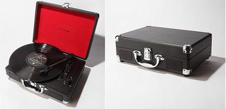 Hype Briefcase USB Record Player