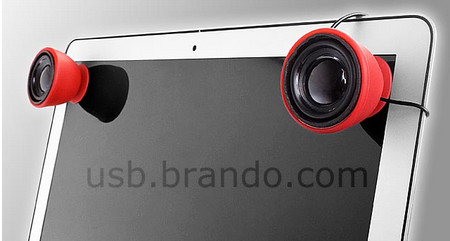 USB Portable Speaker with Suction Cup