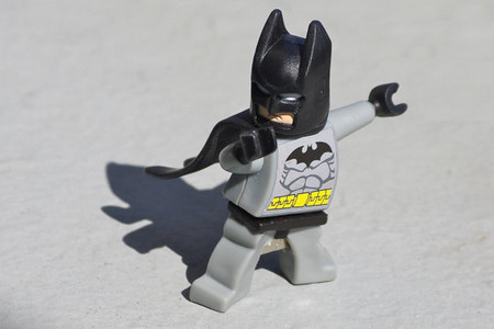4GB Batman flash drive recycled upcycled Lego mini figure USB memory stick Mac Pc