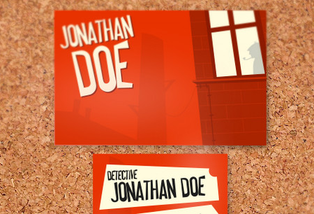 Private Detective Business Card