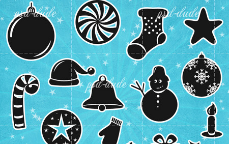 Christmas Free Vector Shapes