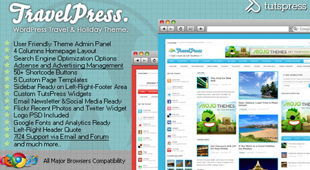 TravelPress WordPress Theme