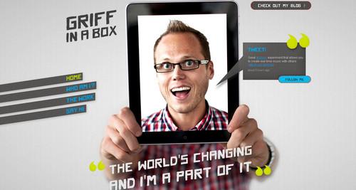 Griffinabox - Digital creative James Griffiths