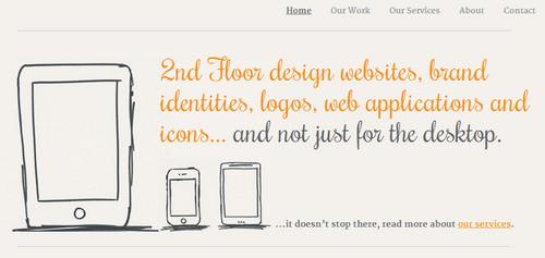 We are 2d floor - Web Design and Digital Design