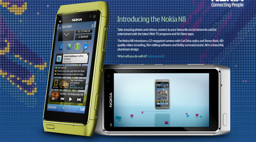 Events Nokia N8