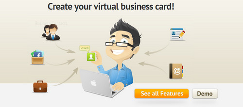 IdentyMe - Create your virtual business card