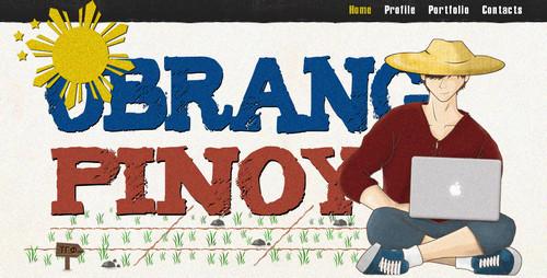 Obrang Pinoy - The best Filipino Web Designer