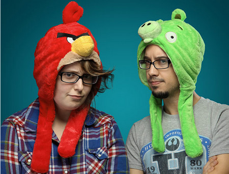 Angry Birds Plush Hats