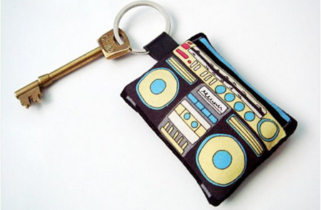 Boombox Keyrings