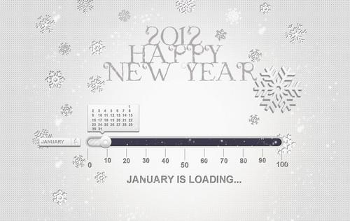 Freebie: 2012 Happy New Year Wallpaper