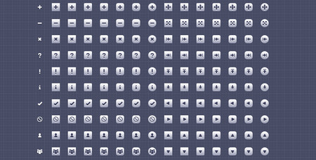 128 16px Toolkit Icons