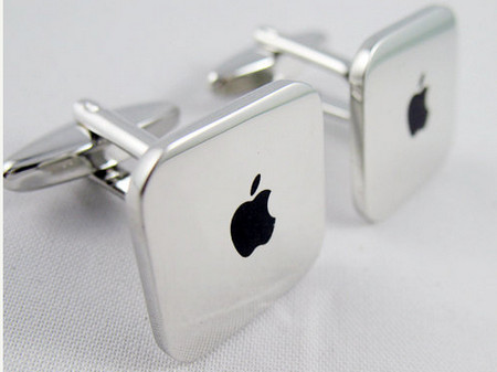 Copper Fashion Cufflinks, Mac Mini Design