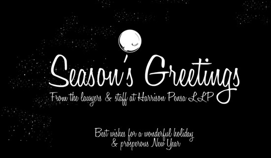 Harrison Pensa - Season`s Greetings