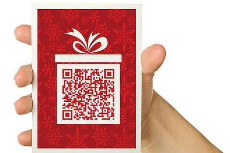 QR Code Christmas Card