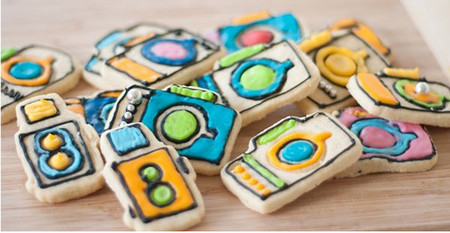 Creative Camera Cookie Cutters