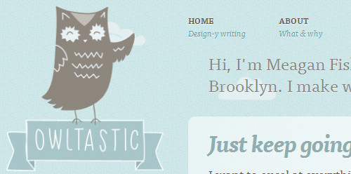 Owltastic - writing about web design