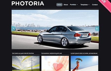 Photoria is a simple & stylish theme