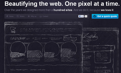 High on Pixels. Circles, Sketching and CSS3/HTML5.