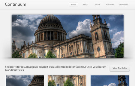 Continuum Website Template