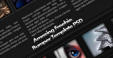 Bumper Fashion Web Template