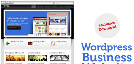 WordPress business website